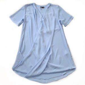 Topshop • Drape Front Tunic Dress